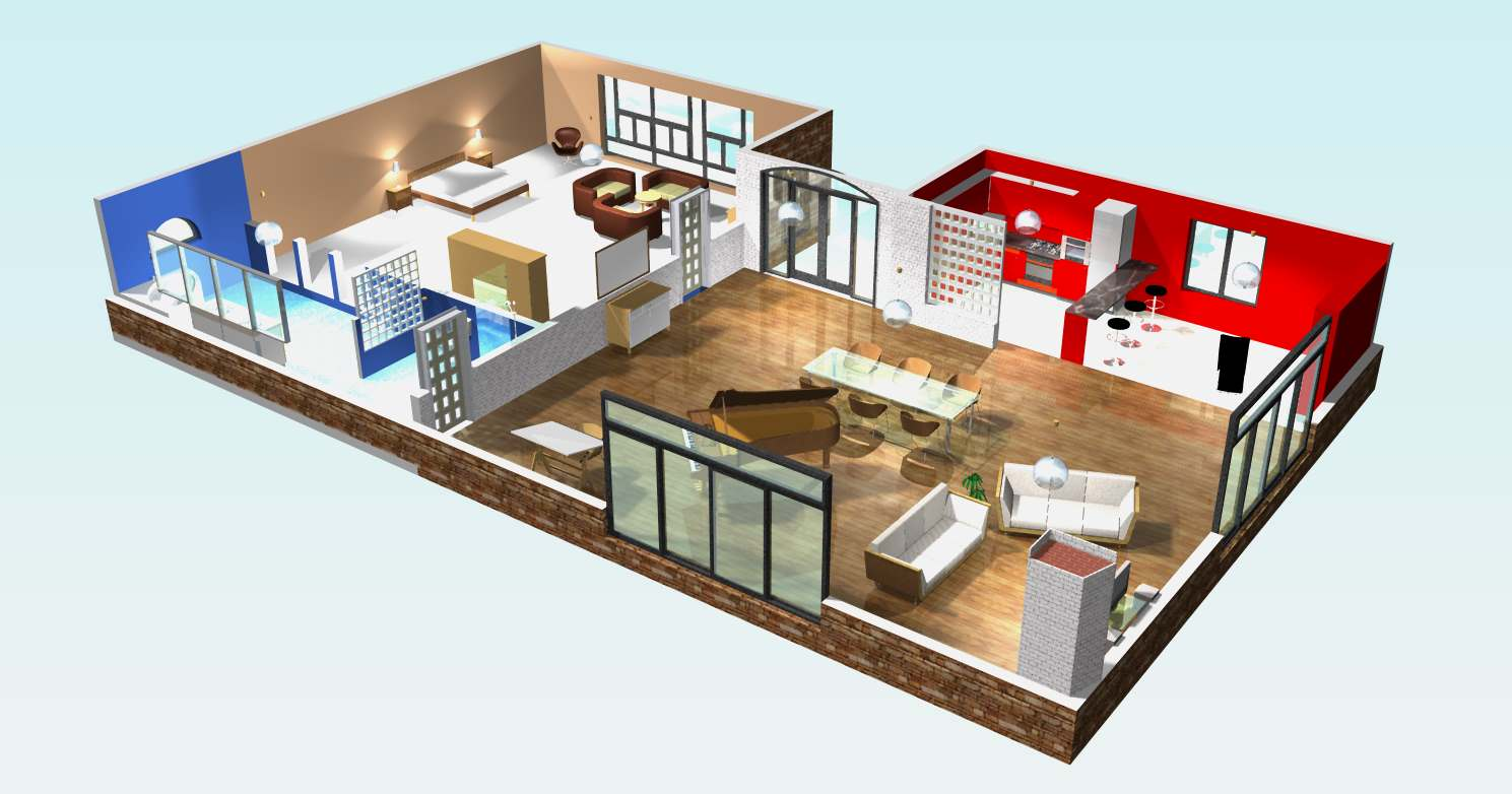 Faire appel un architecte pour la construction de sa for Architecte 3d plan maison architecture